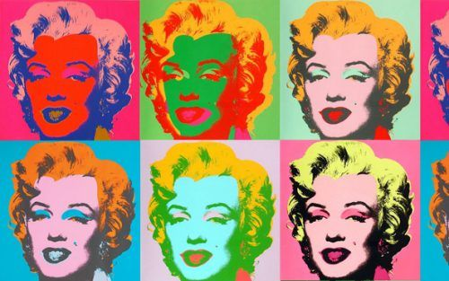 Díptico Marilyn Monroe