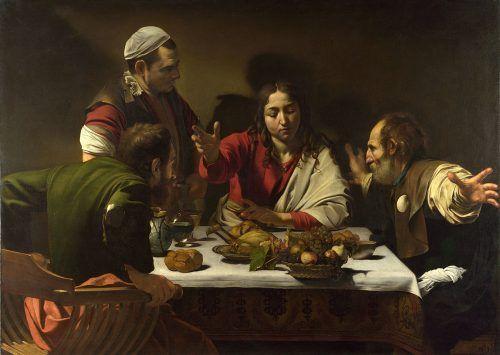 Los discípulos de Emaús de Caravaggio