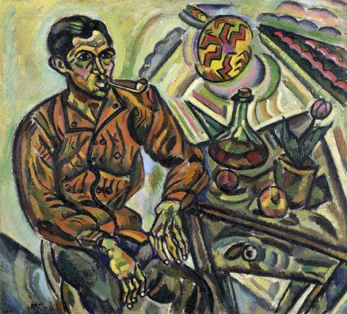 Retrato de Vicenç Nubiola de Joan Miró
