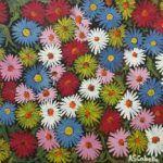 cuadros y pinturas de flores