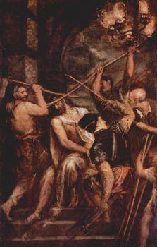 Cristo coronado de espinas de Tiziano Vecellio
