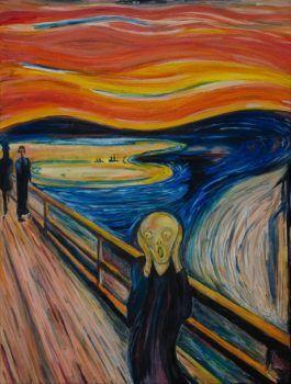 El Grito pintura famosa de edvard munch