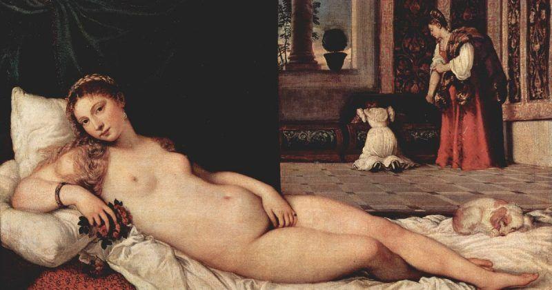 La Venus de Urbino de Tiziano Vecellio