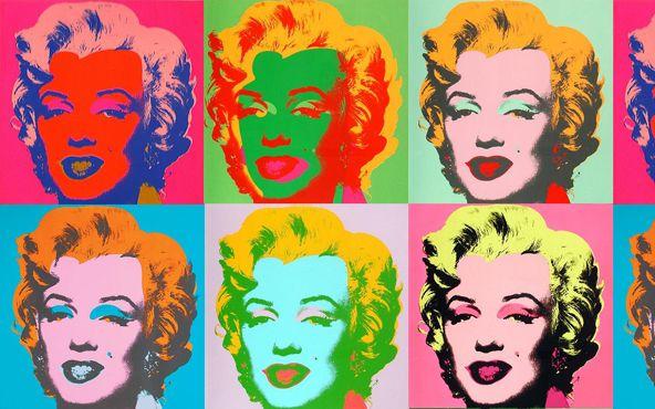 Díptico Marilyn Monroe ícono del Pop Art