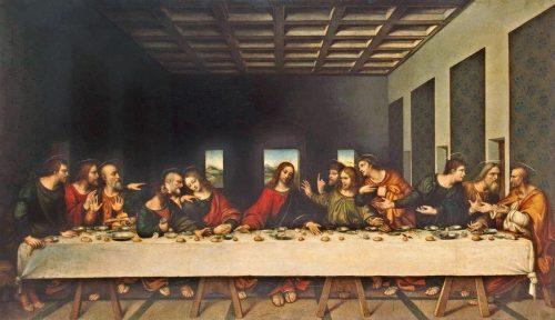 La Última Cena - pinturas famosas