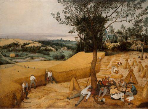 La cosecha - cuadros de pintores famosos